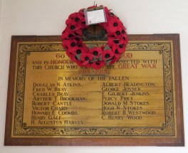 Memorial for Albert Edward Headington