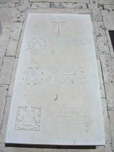 Headstone for Fred Mottram
