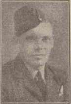 Robert Russell Roberts - Image originally accompanied a newspaper article reporting on the death of Robert Russell Roberts published in The Falkirk Herald and Scottish Midlands Journal on Saturday 9 September 1944