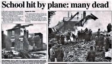 Freckleton Air Disaster, 1944