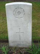 Headstone for John Waring