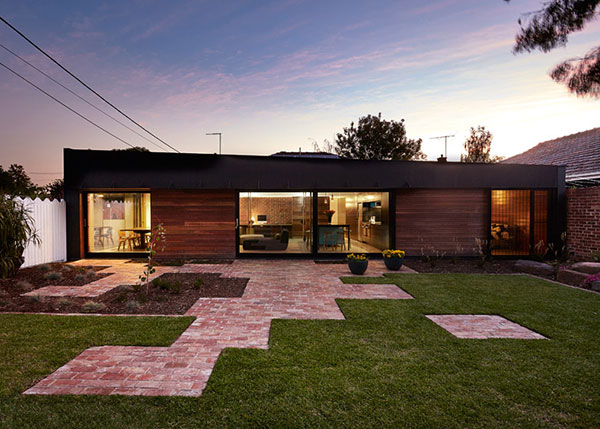 Melbourne house extension by Andrew Maynard