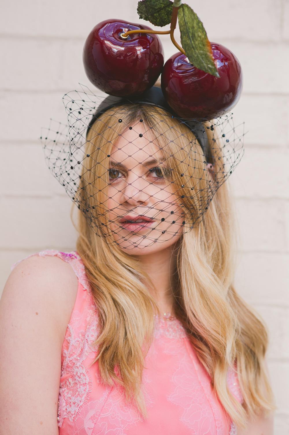 cherry headband2