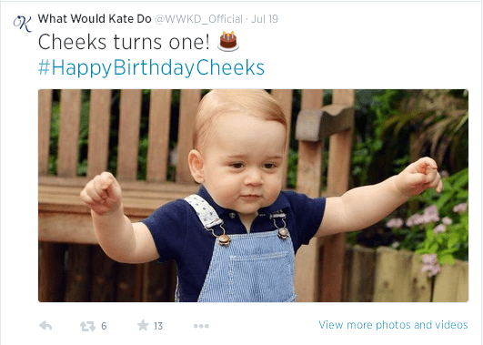 HappyBirthdayCheeks Tweet