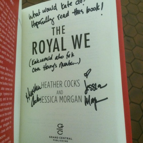 WWKD Reader Version of The Royal We by the Fug Girls