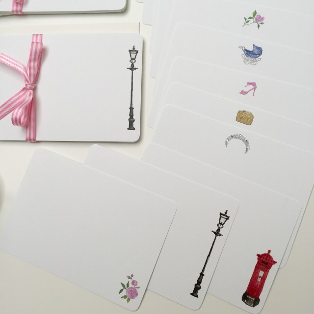 English Rose Stationery