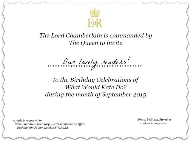 WWKD Birthday Invitation