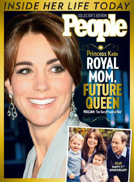 Princess Kate People Magazine Cover - What Would Kate Do?