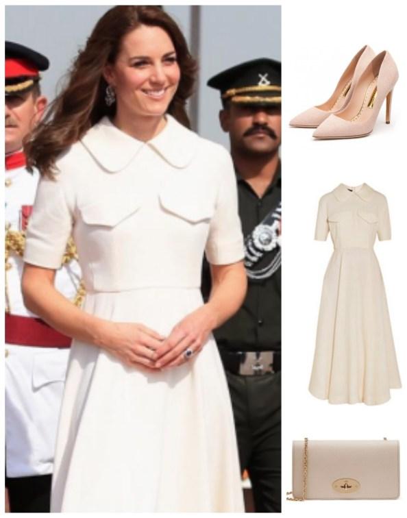 Royal Tour India Day 2 Emilia Wickstead Rupert Sanderson Mulberry