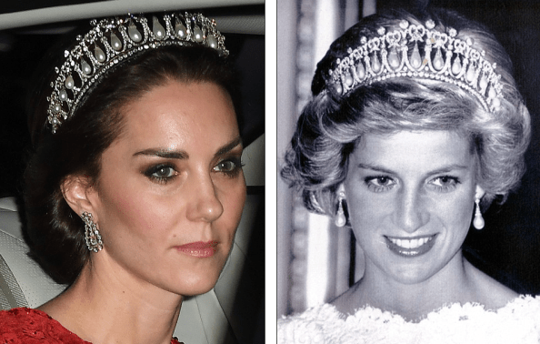 Kate Middleton Tiara Princess Diana