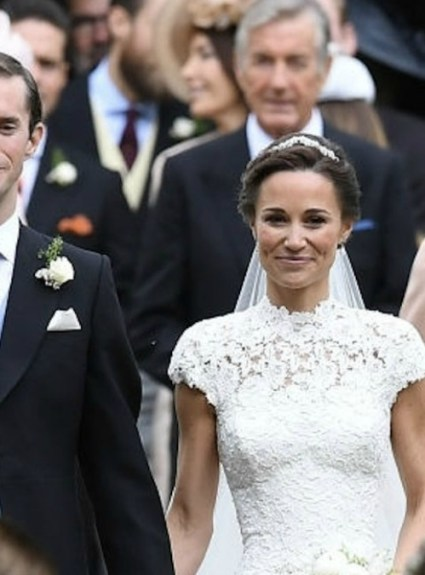 Did Kate Inspire Pippa's Wedding Dress?