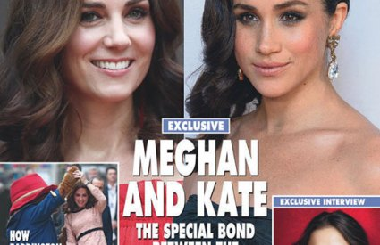 Meghan Markle Kate Middleton Friends Hello Magazine Cover