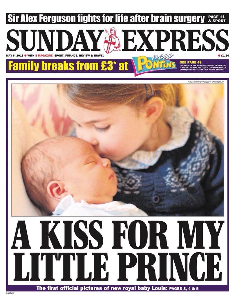 Prince Louis Princess Charlotte Royal Baby