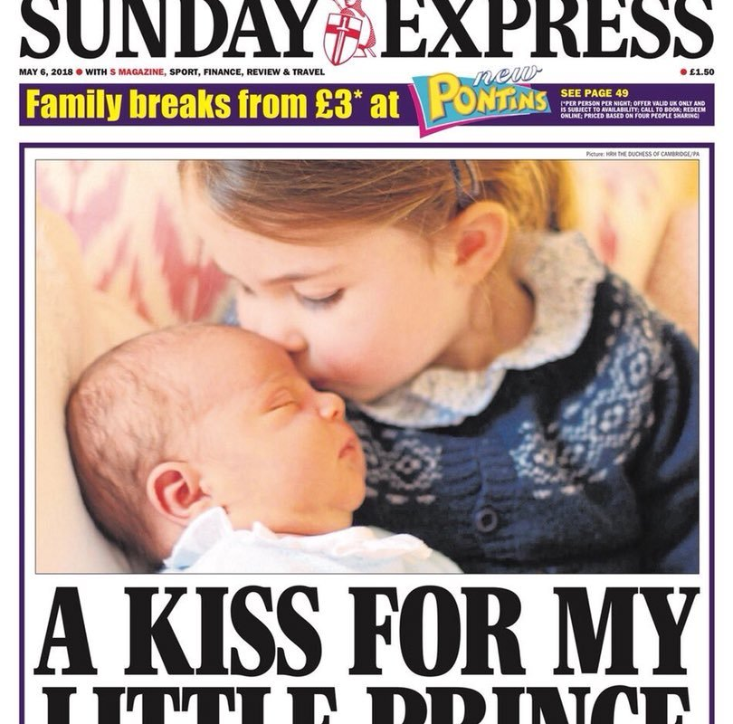 Prince Louis Princess Charlotte Royal Baby
