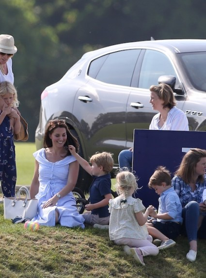 Enjoying Polo like Kate, George, and Charlotte