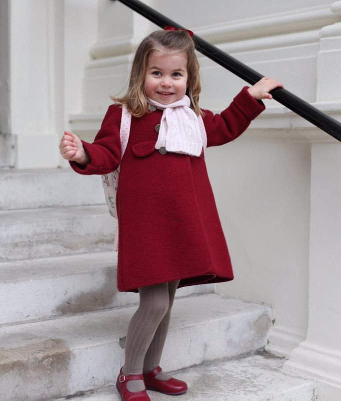 Princess Charlotte First Day of School