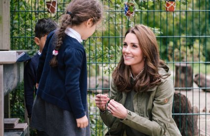 Kate Middleton Garden Leaf Crown