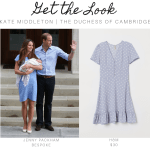 Kate Middleton RepliKate Polka Dot Dress Blue Baby