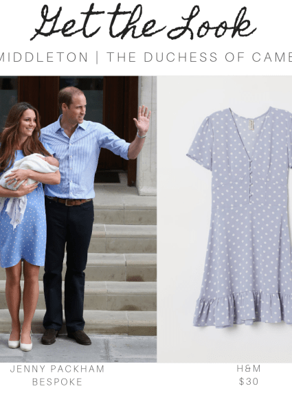 Get the Look | Kate's Classic Blue Polka Dots
