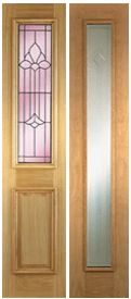 Browse External Oak Sidelights Exterior Door Range