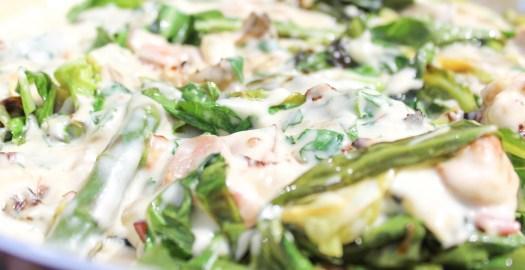 Cabbage Tagliatelle