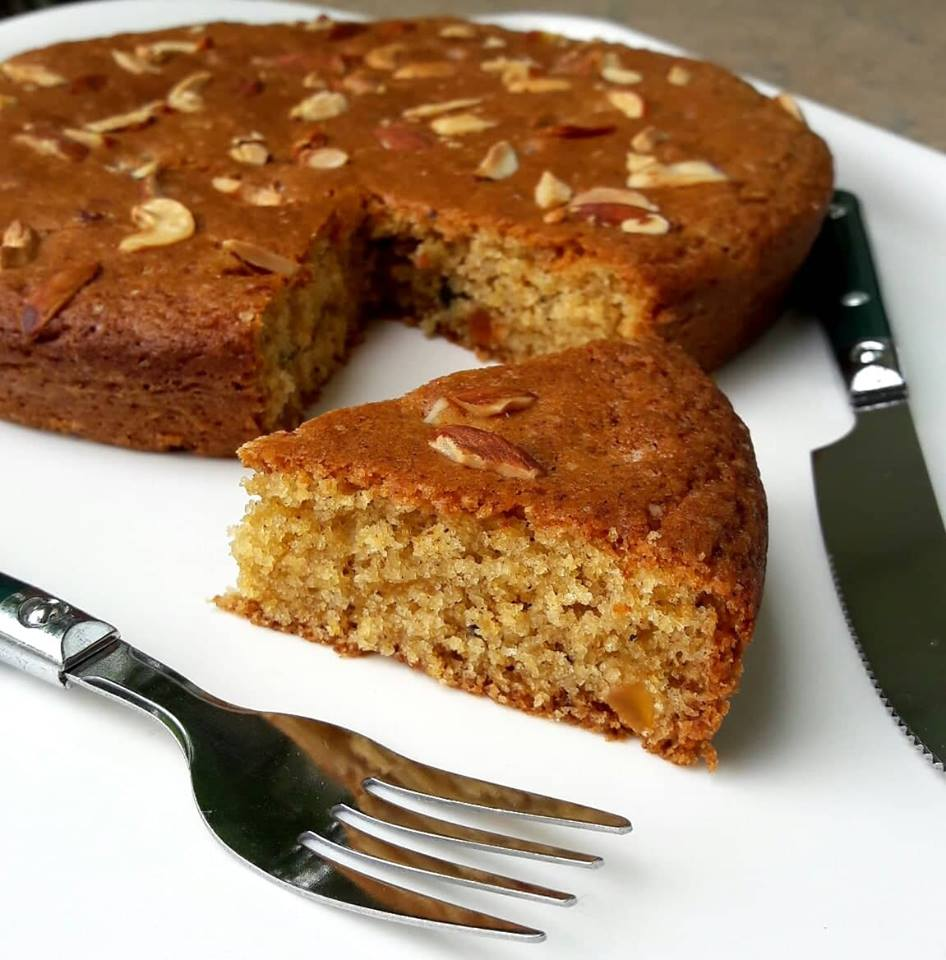 EGGLESS WHEAT FLOUR TUTTI FRUITY CAKE. - - Wheat - A ...