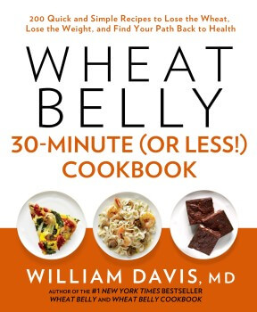 Wheat Belly 30-Minute Cookbook Cover