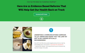 Sign the petition to change the U.S. Dietary Guidelines for Americans