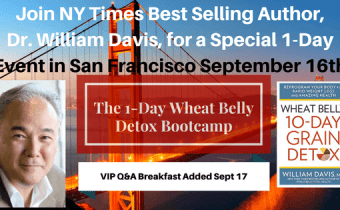 Announcing the Wheat Belly 10-Day Grain Detox BOOTCAMP