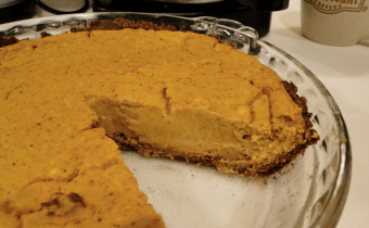 Wheat Belly Pumpkin Pie