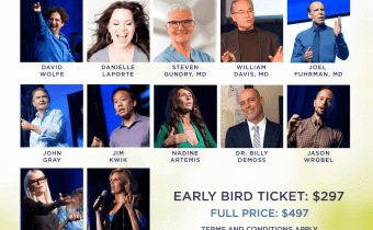 Join me at the Longevity Now Conference in Anaheim April 6th-8th