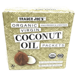 Trader Joe's Coconut Oil Packets
