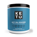 MCT oil powder chocolate flavor