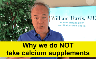Why we do NOT take calcium supplements