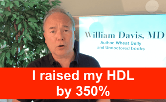 I raised my HDL by 350%