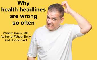 Why health headlines are wrong so often