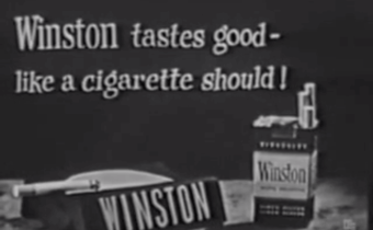 Deceptive cigarette advertising