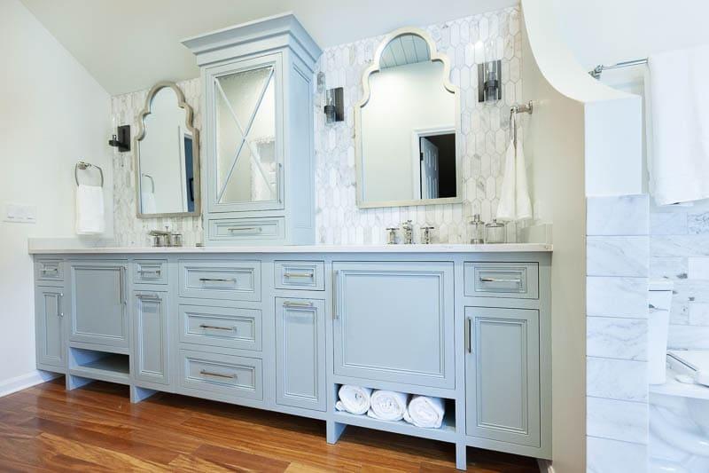 master bathroom vanity in naperville