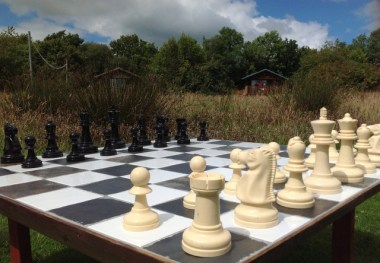Play outdoor chess