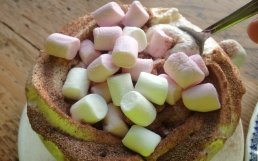 Can you have too much cream and marsh mallows?
