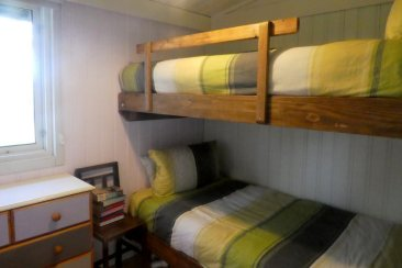 The bunk room in Beech Lodge