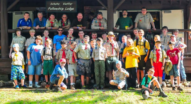 Troop 35 (after breakfast)