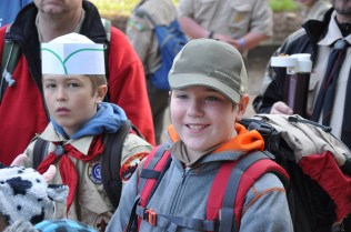 More smiling campers!