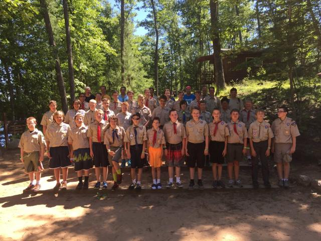 Troop 35/44 Photo at Tesomas