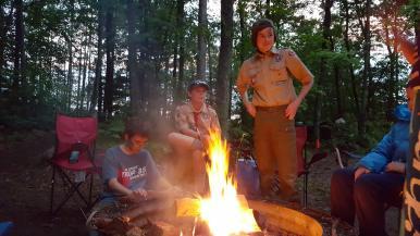Campsite Campfire