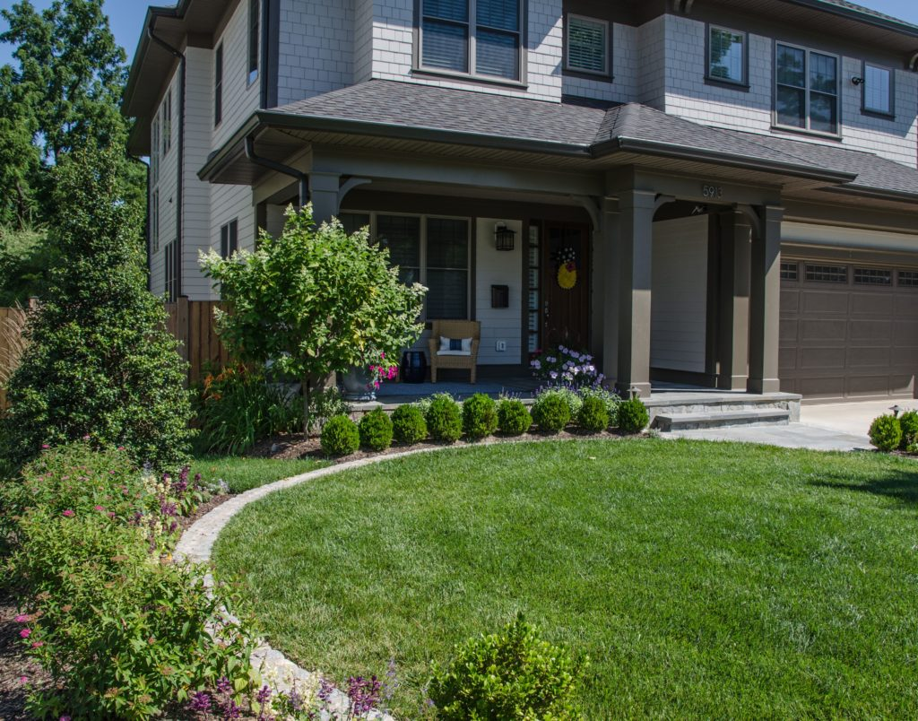 Front Yard Landscape Designs | Front Yard Landscaping | VA ... on Outdoor Front Yard Ideas id=48316