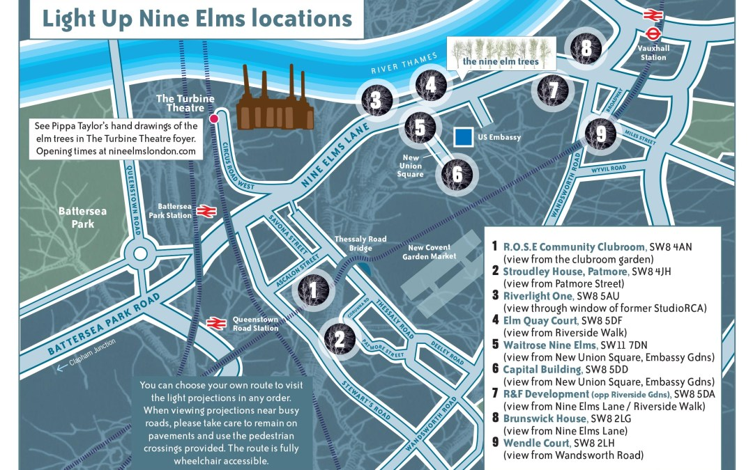 Nine Elms Festive Lights
