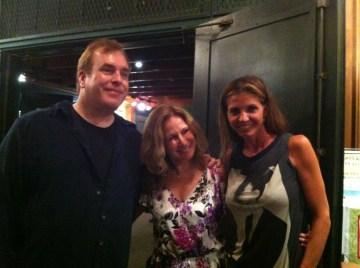David Fury, Elin Hampton, and Charisma Carpenter. Photo Credit: Isis Nocturne