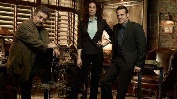 Artie, Myka, and Pete of Warehouse 13. Photo Credit: Syfy.com