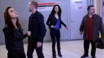 Warehouse 13 suddenly looks very different. Photo Credit: SyFy.com